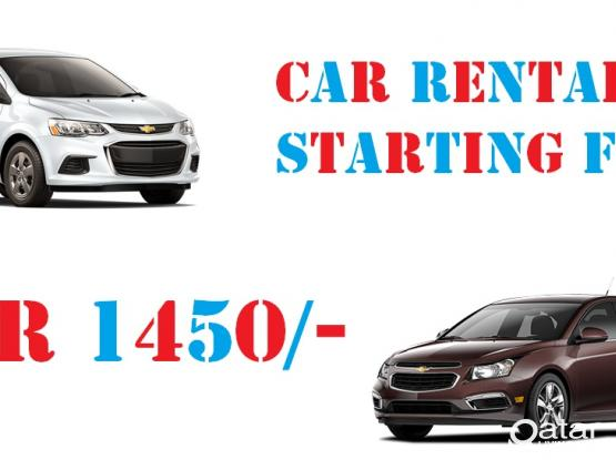 Car Rental on Monthly/ Weekly/ Daily basis
