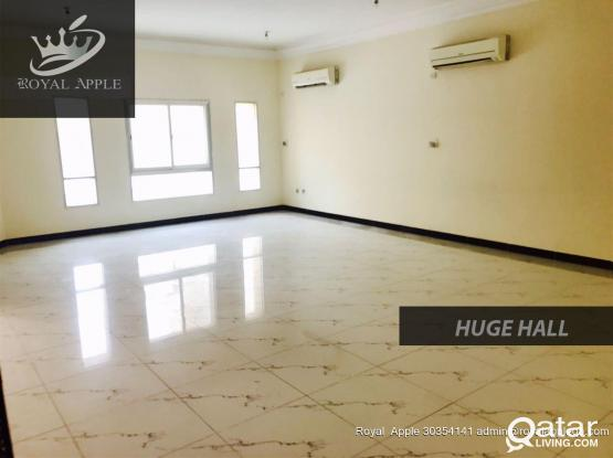 Ex-Bachelor 6 Bedroom 4 Bathroom Semifurnished Compound Villa in Ain Khalid Near Mega Mart