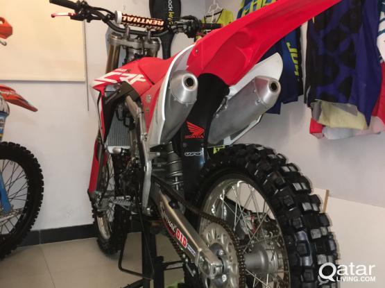 Honda Bikes CRF250 2018