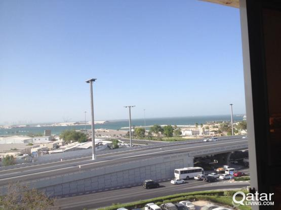 Front of Cornish&Qatar museum  2 bedrooms nice view