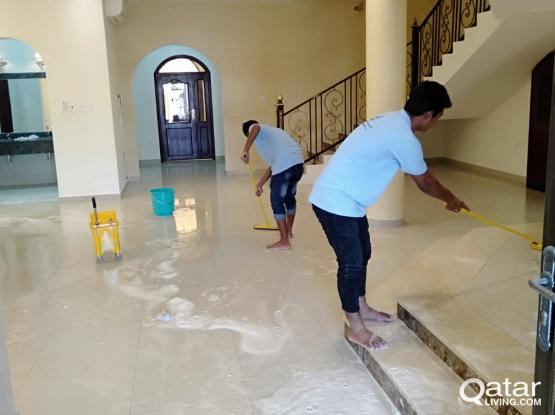 AL sahaba cleaning services contact us :77467742