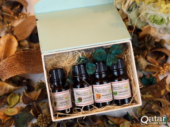 High Quality and 100% pure essential oils available free home delivery