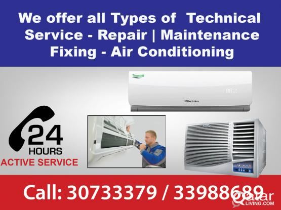 AC Service and Maintenance - All Types