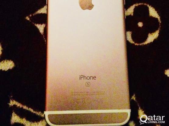 Rosegold 32gb iphone 6s