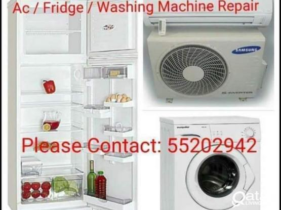 A/c,Fridge And Washing Machin Repair.66343689