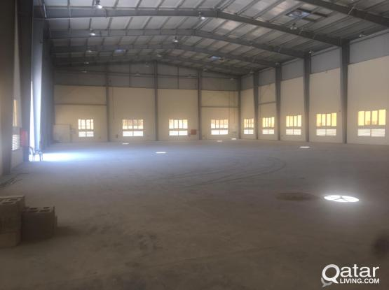2000 m2 store in industrial area