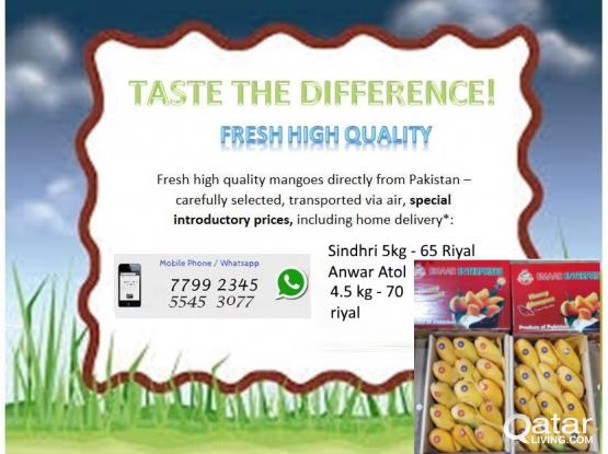 Fresh Mangoes from Pakistan by Air! Homedelivery!!