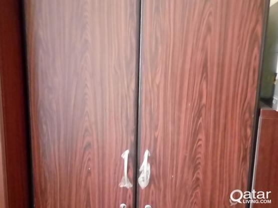 Double door cupboard for sale