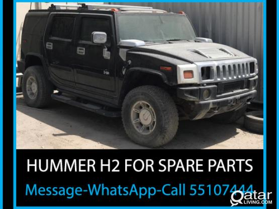 HUMMER H2 for SPARE PARTS