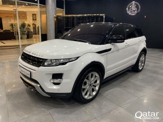 Land Rover Evoque Dynamic 2012