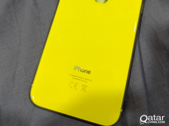 I phone XR 64 gb Yellow brand new for sale