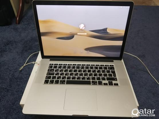 Macbook Pro 15 inch,Retina,Core i7,SSD 256GB