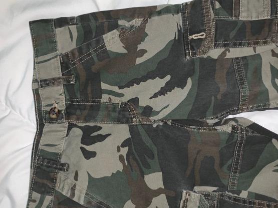 Wrangler cargo shorts boys camouflage cotton kids