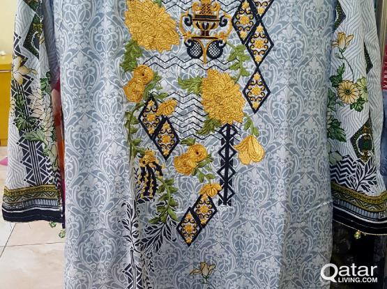 stitched and unstitch pakistani dresses