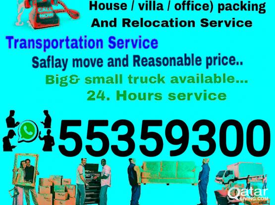 DOHA MOVERS SERVICE COLL 55359300