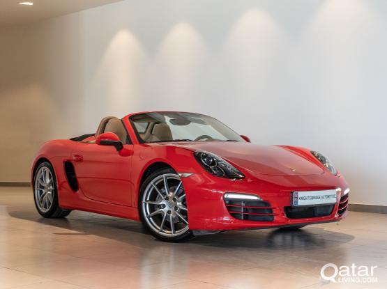 Porsche Boxster Standard 2014