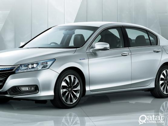 Rent honda accord for 80 qr and get 3 days extra T&C apply
