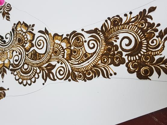 hennaنقش #الحناء