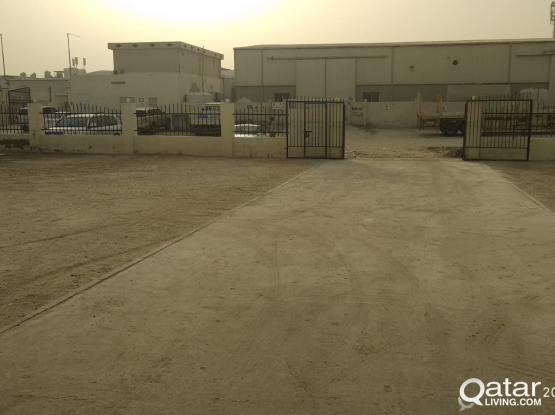 500SQUARE METER STORE WITH 12 ROOMS FOR RENT IN INDUSTRIAL AREA