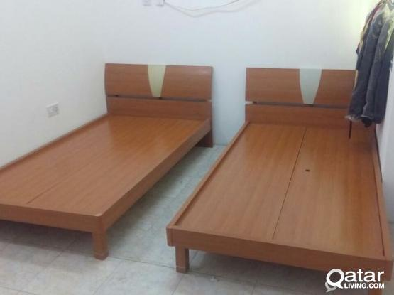 For Sell 2 Single cot good condition