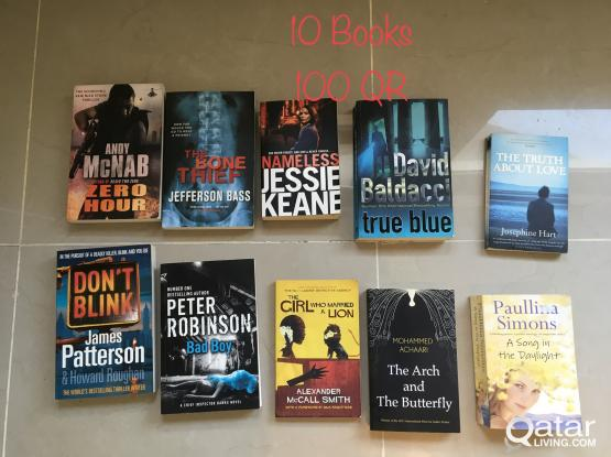 10 Books for 100 QR
