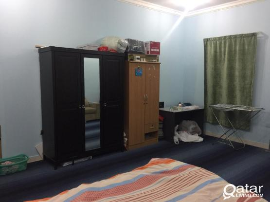 Fully furnished room for executive bachelor in abu hamour