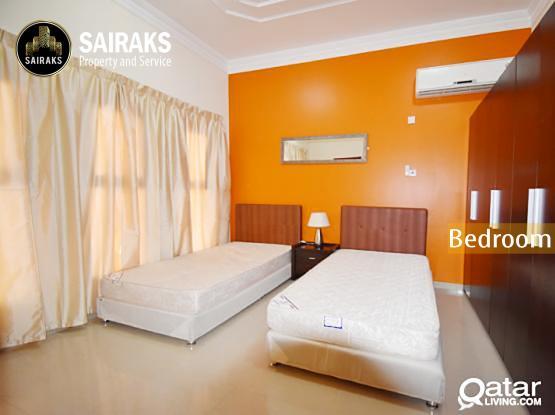 Spacious F/F 3BHK Apartment available in Al Kheesa
