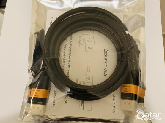 Cable Matters DisplayPort to DisplayPort Cable (DP to DP Cable) 6 Feet (Brand New)