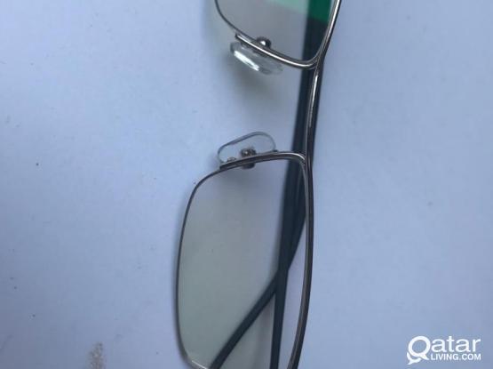 Stylish Eyewear with Titanium Frame - Like New
