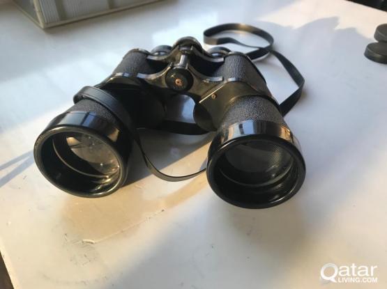 VINTAGE Crown Binoculars