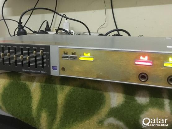 sony graphic equaliser made in japan