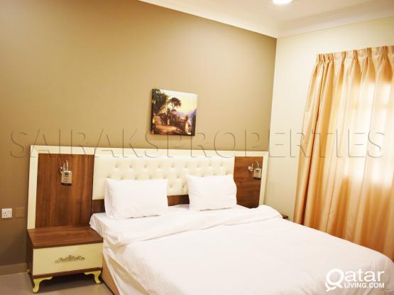 Elegant F/F 1 BHK Apartment available in Al Thumama
