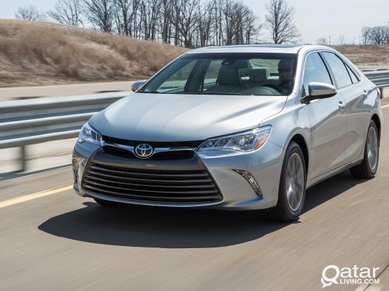 Rent toyota camry on 80 qr per day  and 3 days extra T&C apply