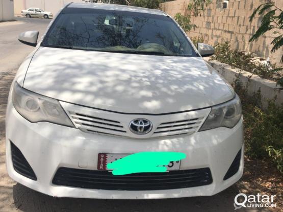 Toyota Camry GLI 2014