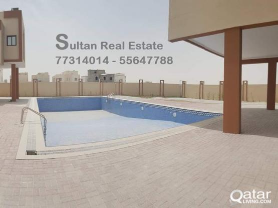 Compound villa in umm salal 1 month free