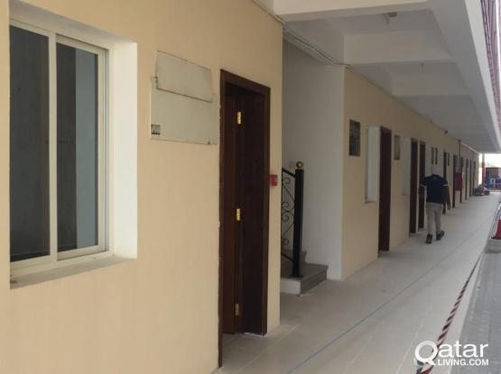 24&74 ROOMS CAMP FOR RENT IN INDUSTRIAL AREA
