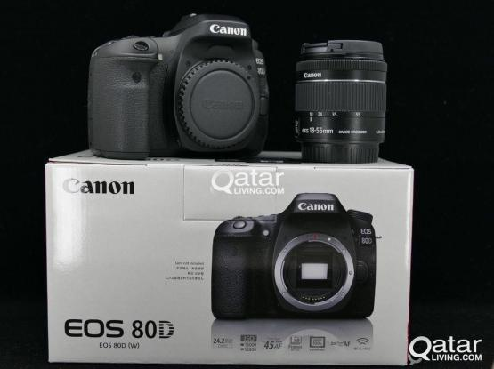 canon 80d and 18-55 Lense
