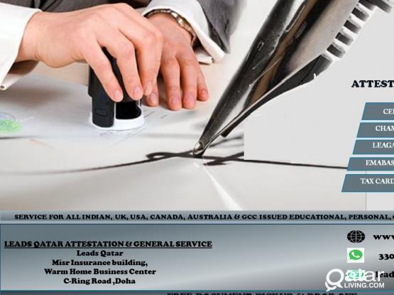 CERTIFICATE ATTESTATION & GENERAL SERVICES