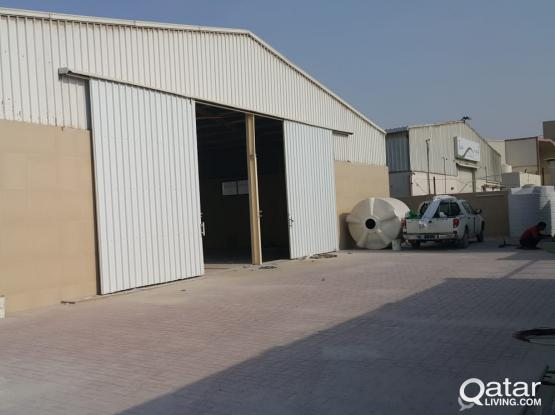 3200 SQUARE METER STORE FOR RENT IN INDUSTRIAL AREA