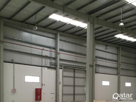 NEW 6800 SQUARE METER STORE FOR  RENT IN INDUSTRIAL AREA