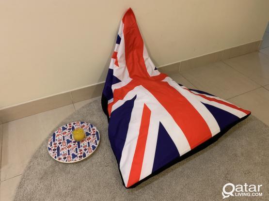 Bean Bag - UK Flag