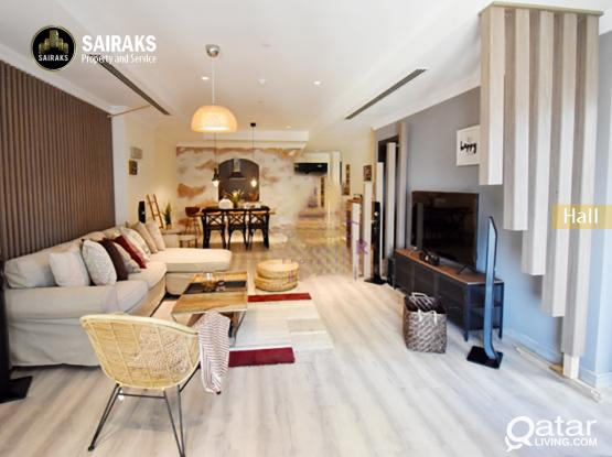 Luxury Brand New F/F 1Bedroom apartment in Pearl Qatar