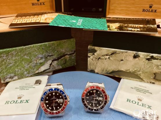 Selling Both Vintage Rolex GMT Master Pepsi 16700 & Coke 16710