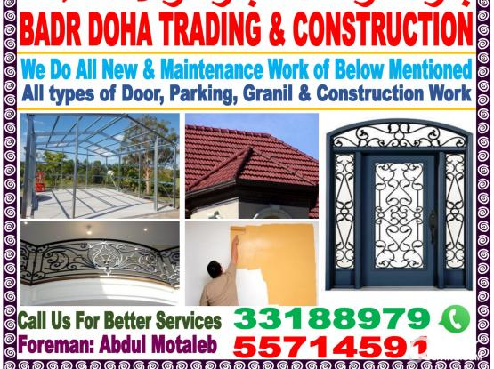 Best Service in & Painting & Welding  please call 55714591 and 33188979
