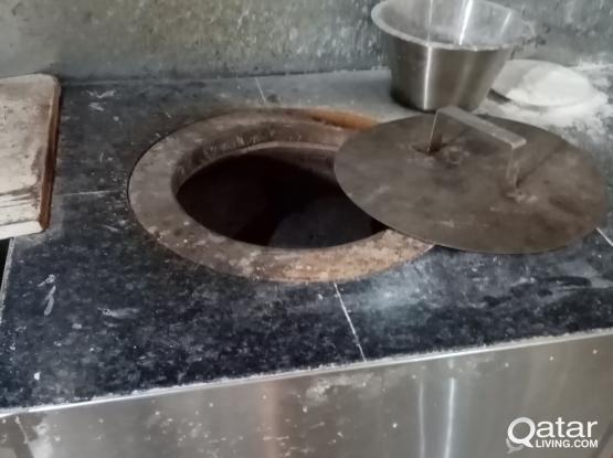 Deep freezer +owan(TANOOR FOR ROTI MAKING)+Dough Maker / Atta Gunday wali machine