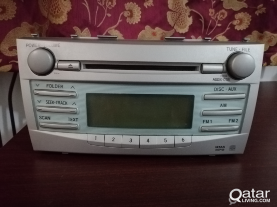 Camry 2010 Stereo/CD player