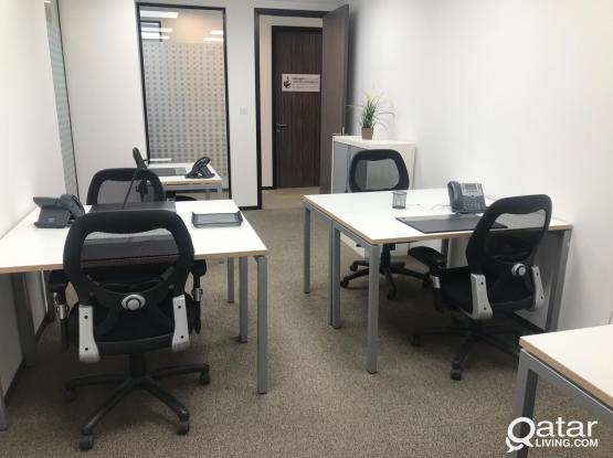 Furnished Offices For Rent- Prime Locations Across Doha