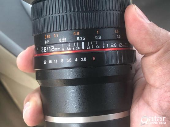 rokinon 12mm f2.8 for canon