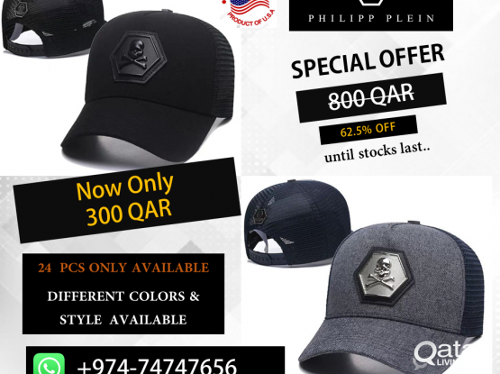 ORIGINAL PHILIPPPLEIN HATS ON PROMOTION FREE DELIVERY