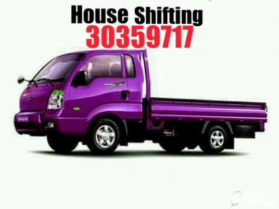Qatar House shifting moving and Transportation